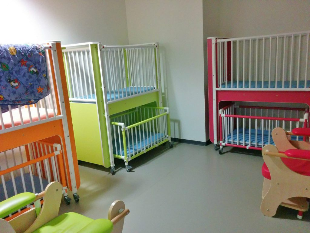 Beds for children who want to take a nap are available in Geneva's airport